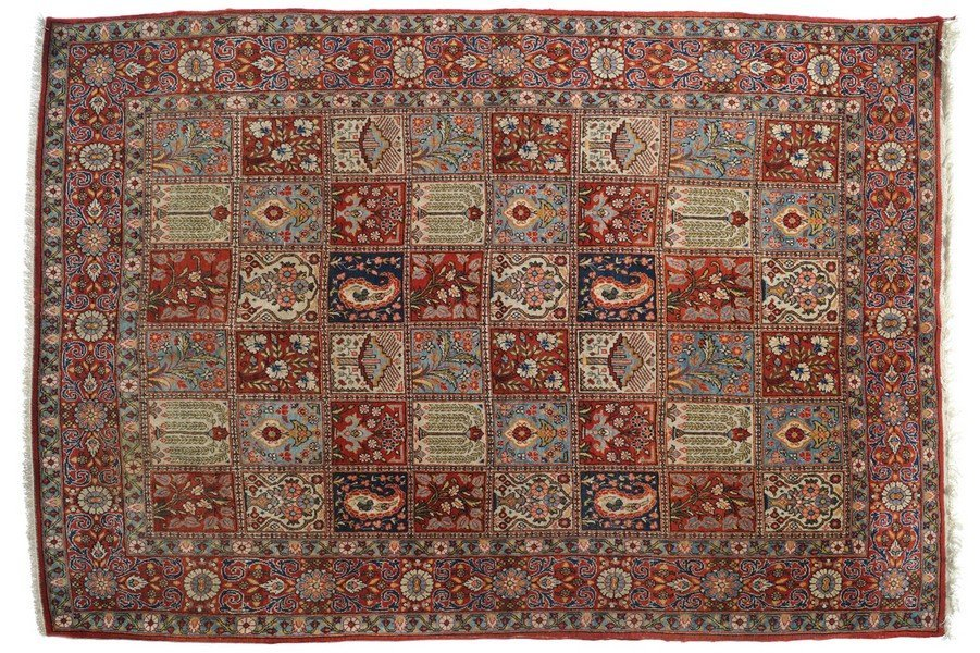 NORTHCENTRAL PERSIAN WOOL AND WEAVE CARPET