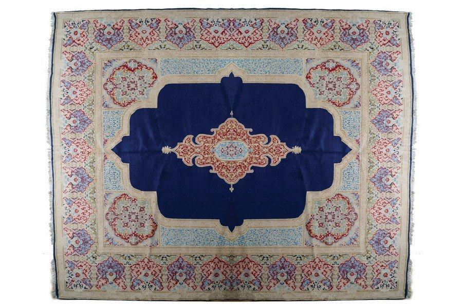 SOUTHEAST PERSIAN ROYAL KIRMAN CARPET, CIRCA 1920