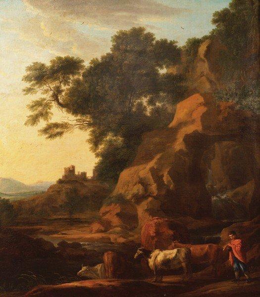 GEORGE BARRET, SR., RA (IRISH, 1728/1732-1784)