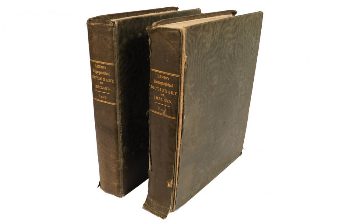 BOOK: TOPOGRAPHICAL DICTIONARY OF IRELAND