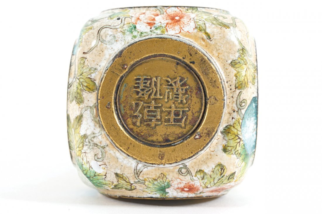 CHINESE QING PERIOD ENAMELLED SNUFF BOTTLE - 3