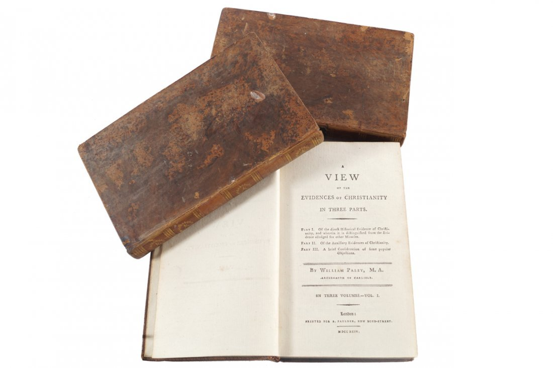 WILLIAM PALEY. A VIEW OF THE EVIDENCES OF CHRISTIANITY.