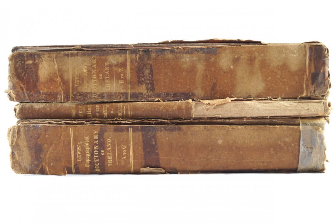 SAMUEL LEWIS. TOPOGRAPHICAL DICTIONARY OF IRELAND.