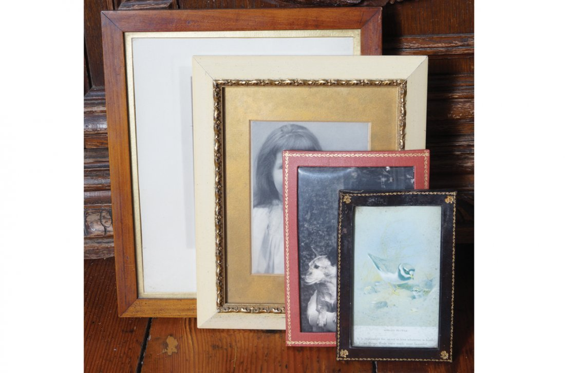 LOT OF FOUR PHOTO FRAMES