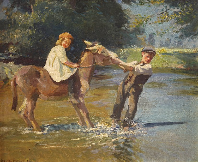 HAROLD HARVEY (ENGLISH, 1874-1941)