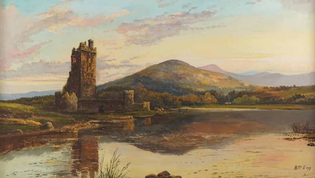 WILLIAM MCEVOY (IRISH, FL. 1858-1880)