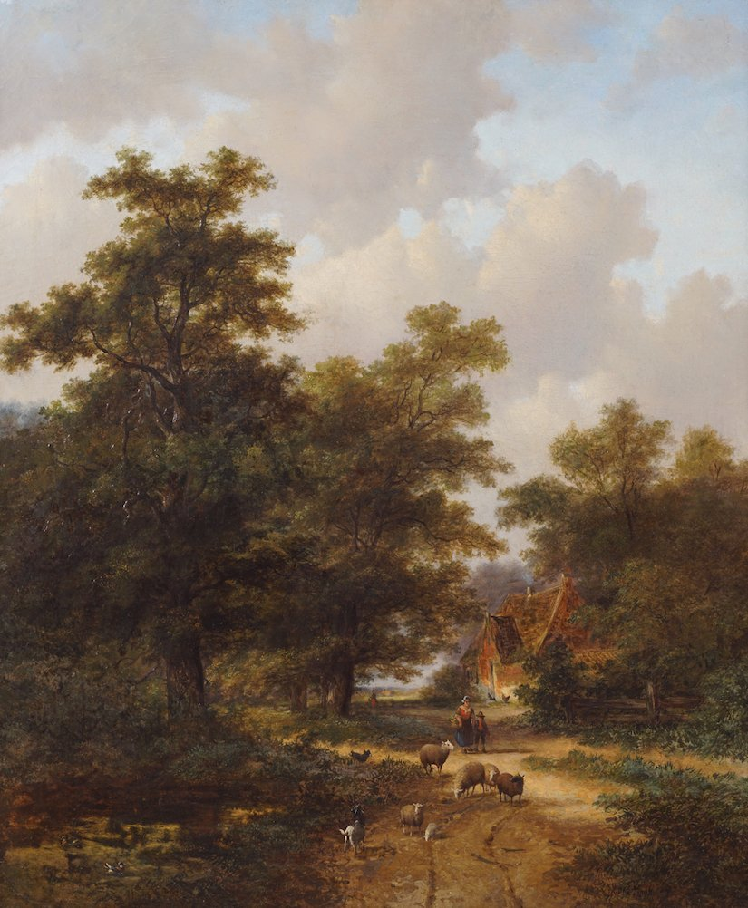 HENDRIK PIETER KOEKKOEK (DUTCH, 1843-1927)