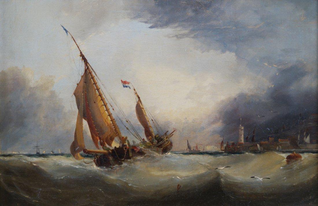EDWIN HAYES, RHA, RI, ROI (ENGLISH/IRISH, 1819-1904)