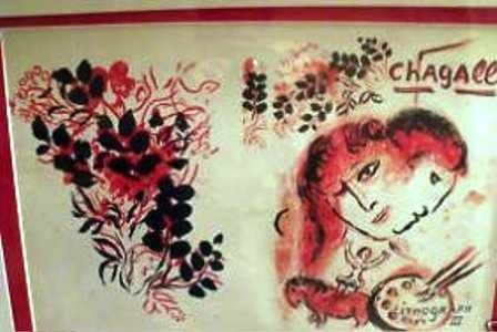 "5A: ""VOLUME III"" by Chagall"