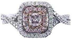 515: 18K FANCY PINK DIAMOND RING