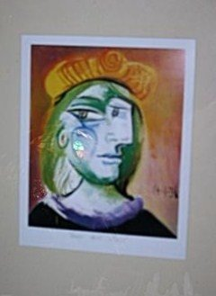 "903: PICASSO -"" WOMAN WITH BERET"""