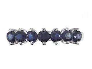 6: 14K Blue Sapphire Ring