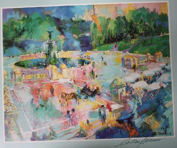 """11: """"CENTRAL PARK"""" BY NEIMAN - SIGNED"""