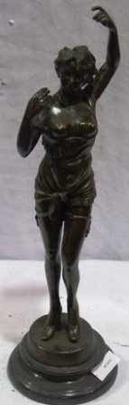 "2112: ""DANCER"" Bronze Sculpture by Chiparus"