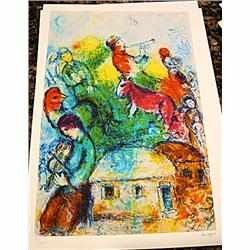 2534: Signed Limited Edition Lithograph by Chagall