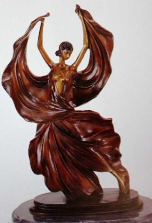 "13A: ""Fascination"" Bronze Sculpture by Icart"