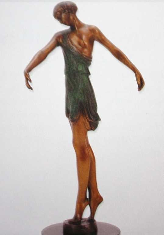 "25A: ""Deco Hands Down"" Bronze Sculpture by Fayral"