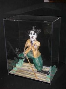 "139A: Rare ""Charlie Chaplin"" by Grooms - Original 3-D"