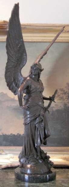 631A: WINGED VICTORY BRONZE SCULPTURE