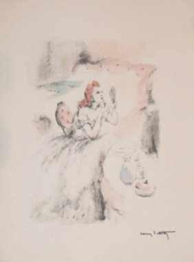"""1015: """"DESTIN DE FEMME"""" by  Icart"""