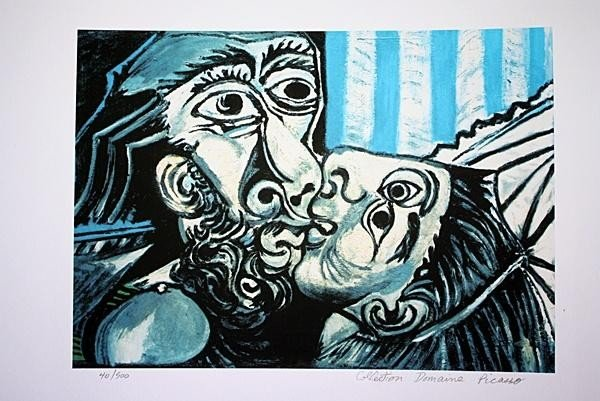 """202: PICASSO - """"THE KISS"""" - LIMITED EDITION"""
