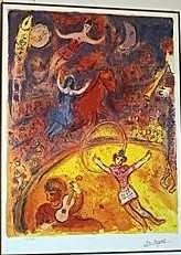 """1208: """"CIRCUS"""" by Chagall"""