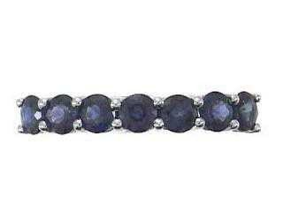 1224: 14K Blue Sapphire Ring