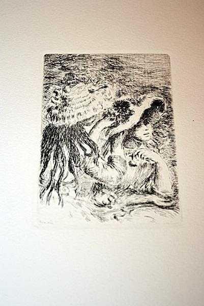 """32: """"SUR LA PLAGE"""" by Renoir"""