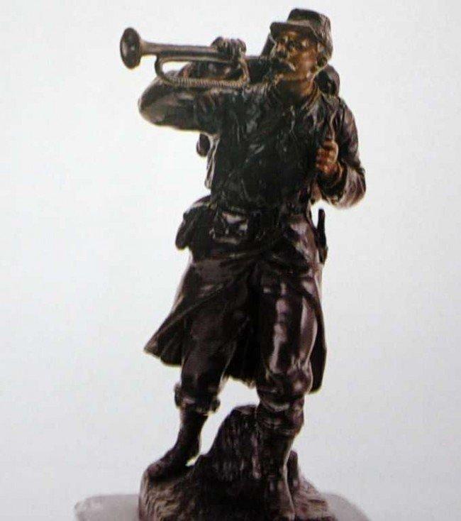 "44: ""Retreat"" Bronze Sculpture by Giegaire"