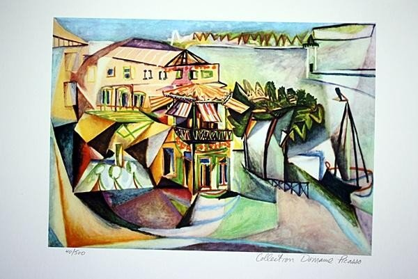 "1270: PICASSO - ""CAFÉ IN ROYAN"""