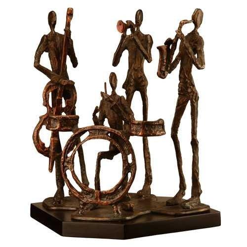 235: Jazz Men Sculpture