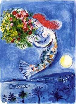 "17: MARC CHAGALL ""BAY OF ANGELS"""