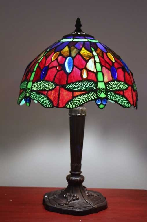 3: JEWELED DRAGONFLY LAMP