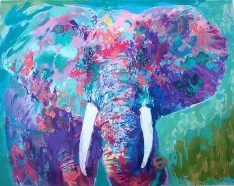 "272: NEIMAN ""ELEPHANT"" SERIGRAPH - HAND SIGNED"
