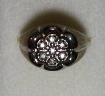 3: Gentleman's .10 CTW Diamond Ring