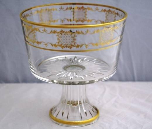 12: Fine Italian Crystal Triffle Bowl