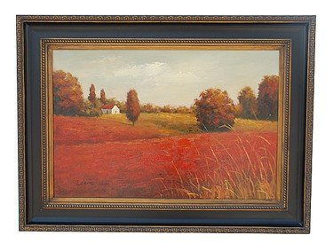 "1041: ""THE POPPIES"" - ORIGINAL OIL ON CANVAS"