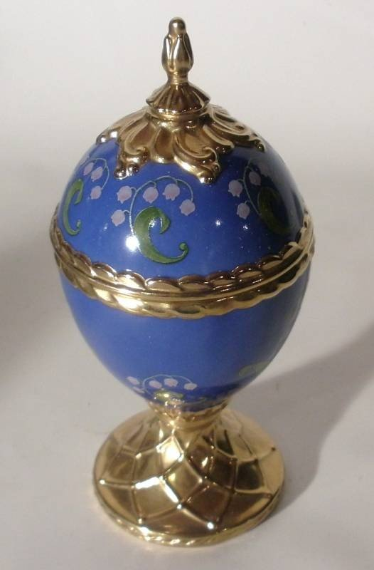 1897: House of Faberge Musical Lily of the Valley Egg
