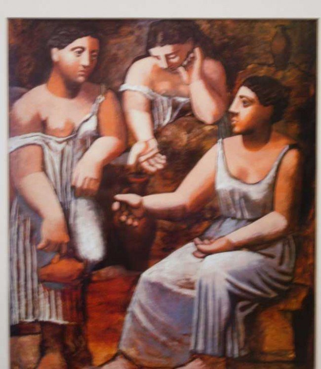"""22: PICASSO """"THREE WOMEN AT THE SPRING"""" LIMITED EDITION"""