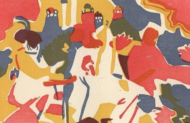 """614E: Wassily Kandinsky """"Orientalisches"""" original color"""