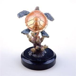 4: Sea Turtle Bronze Sculpture