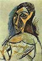 "16: PICASSO ""PORTRAIT OF WOMAN"""