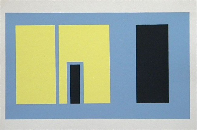 18: Josef Albers silkscreen 1963