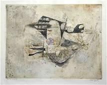 "465: Friedlaender ""Poissons III - Fleur Marine"" artist"