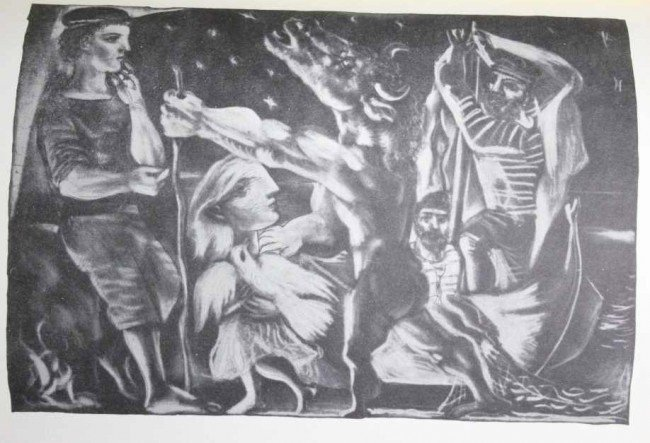 "6: PICASSO ""BLIND MINOTAUR LED THROUGH THE NIGHT BY GIR"