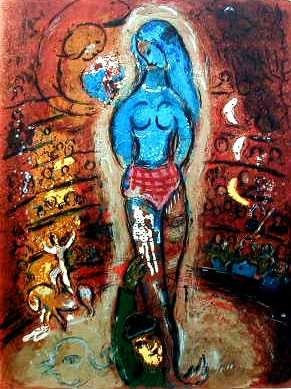 "32: MARC CHAGALL ""CIRCUS I"""