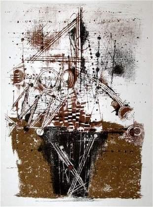 920: Johnny Friedlaender original lithograph, 1973