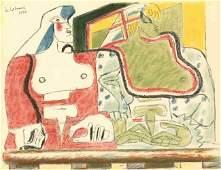 1296 Le Corbusier original lithograph