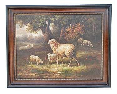 """10: """"THE SHEEP"""" - ORIGINAL OIL ON CANVAS"""