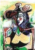 "12: PICASSO ""PORTRAIT OF WOMAN"""